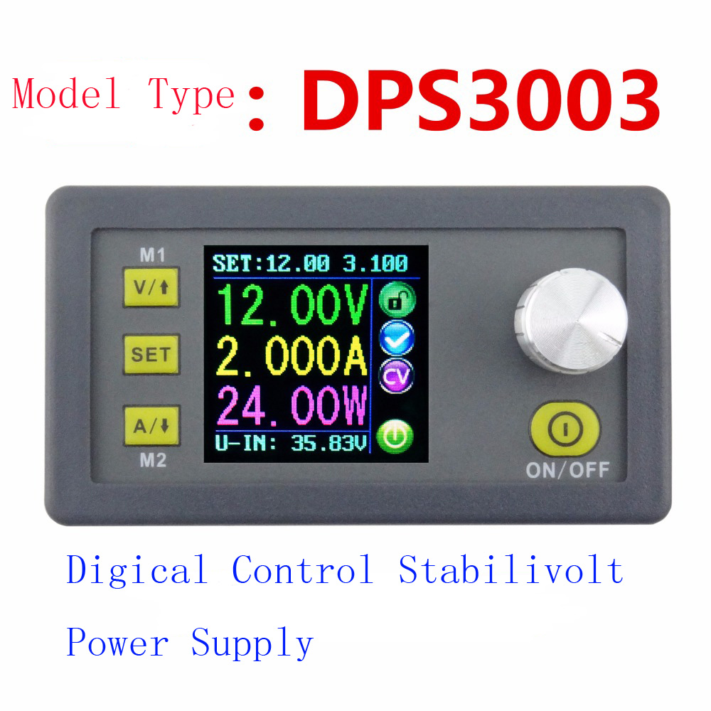 DPS3003 Digital Control power supply 30V 3A Adjustable Constant Voltage Constant current tester DC voltmeter Regulators Ammeter