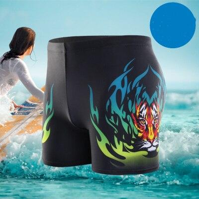 Men Swimwear Shorts Briefs Swimming-Trunks Sport Men's Beach Hot Summer Classic Tiger