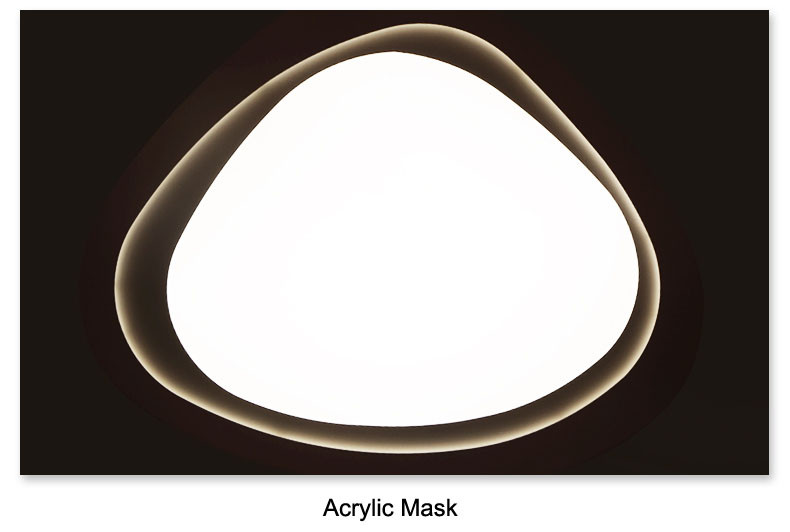 Uzaqdan idarə olunan səth quraşdırılmış qonaq otağı üçün - Daxili işıqlandırma - Fotoqrafiya 4