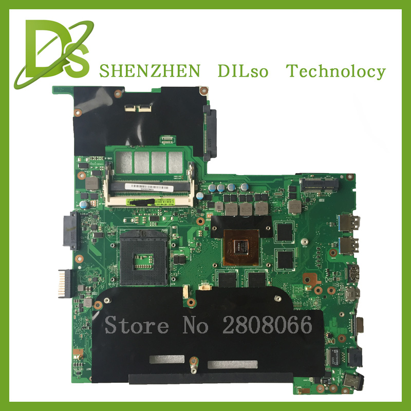 все цены на KEFU G55VW For ASUS G55VW motherboard Non-Integrated G55VW mainboard REV2.0 100% tested motherboard онлайн