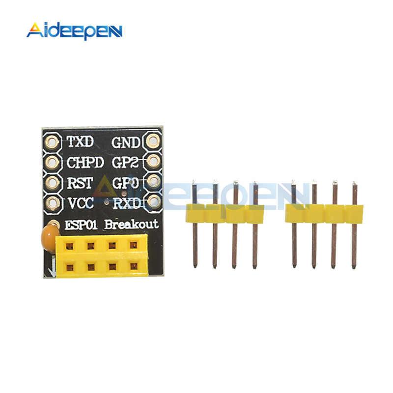 ESP8266 ESP01 ESP01S Breakout Breadboard Serial PCB WiFi URAT Adapter