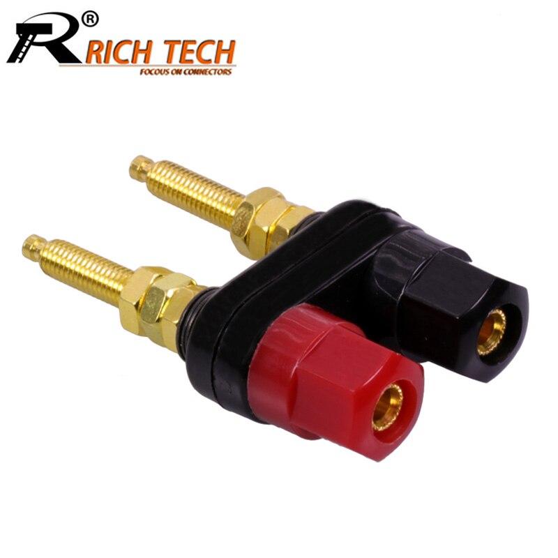 100pcs Double Banana Plug Socket Twin Binding Post