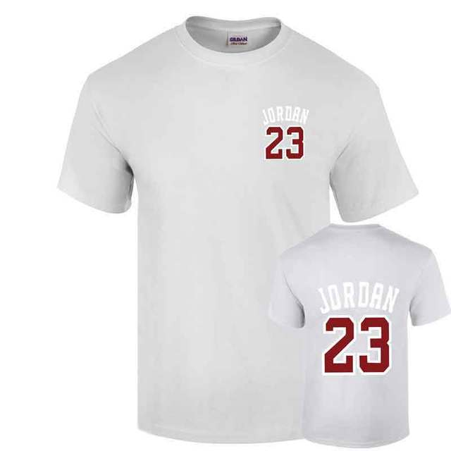 tout neuf 24ed9 06f66 € 5.0 22% de réduction|Marque vêtements 23 jordan t shirt Swag T Shirt  coton hommes T Shirt Homme Fitness Camisetas Hip Hop T Shirt hommes hauts t  ...