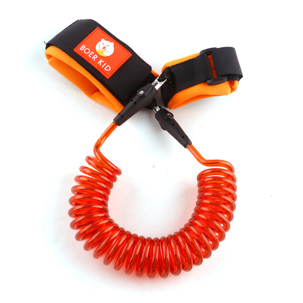 1 pcs 2.5M child traction prevents missing rope outdoor tools Anti Lost Wrist Link for 1 to 10 years old unisex baby kids safe