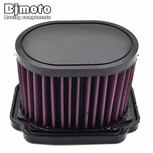 New Arrive Motorcycle High Flow Air Cleaner Replacement Filter Element For Yamaha MT07 FZ07 2014-2016