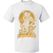 METAL LAMB OF GOD ROCK BAND VINTAGE Free Shipping Tee S-3XL 100% Cotton T-Shirt Summer Style Men T Shirt Top