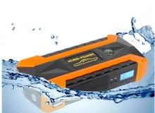 Waterproof New Multi-Function 69900mah Car Jump Starter 12V Starting Device Mobile 4USB Power Bank Compass SOS Lights Free Ship