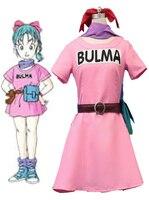 Dragonball Z Bulma Cosplay Costume
