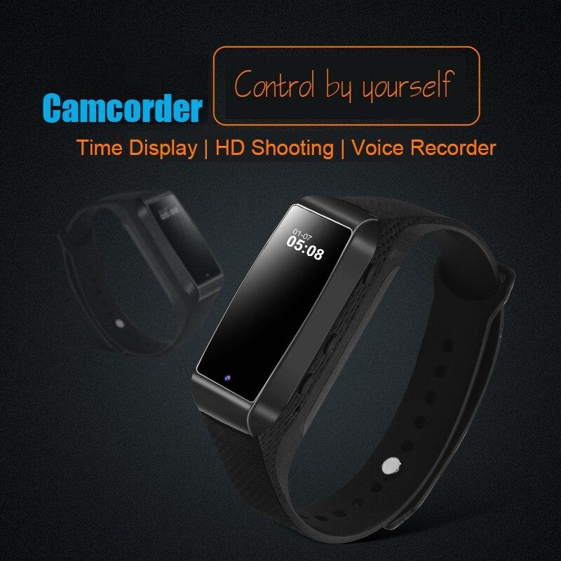 Digital Voice Recorder Smart Bracelet Watch Pedometer Smartband Invisible Mini Camcorder HD 1080P Camera 8G/16G/32G/64G TF Card некрасова я в милан шопинг рестораны развлечения