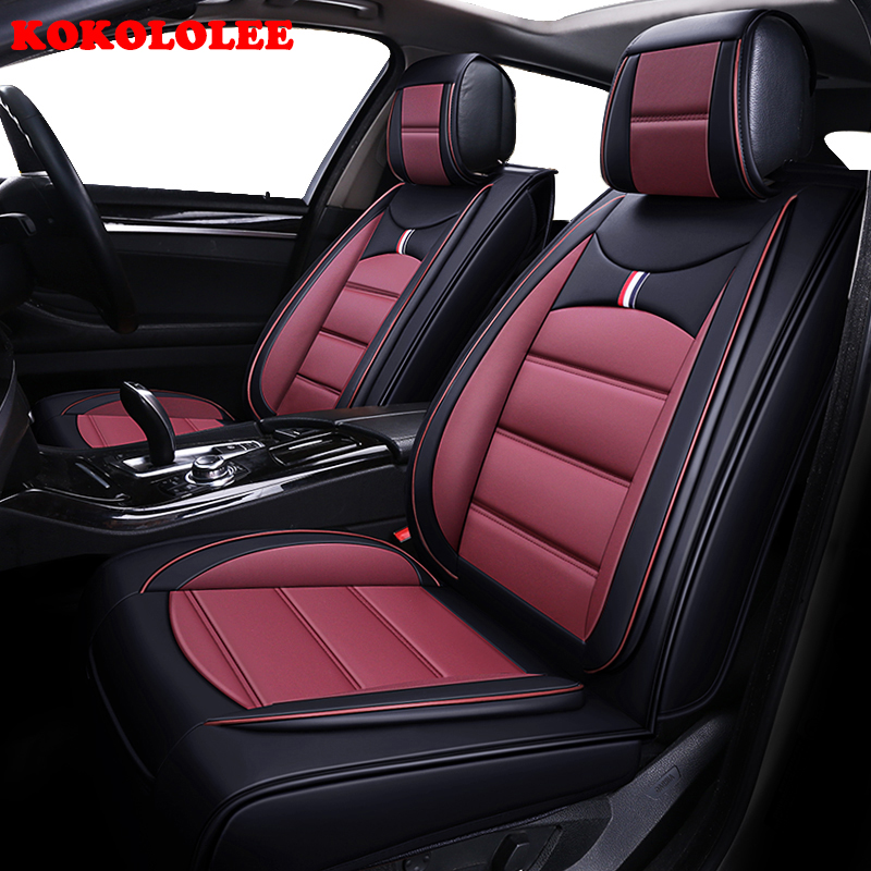 KOKOLOLEE voiture seat cover set pour KIA Rio Cerato Sorento Forte K2 K3 K5 ceed voiture sièges protecteur coussin de voiture auto Intérieur