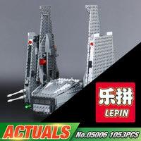 05006 Hot Sale 1053pcs Star Wars Kylo Ren Command Shuttle LEPIN Building Blocks Kid S Toys
