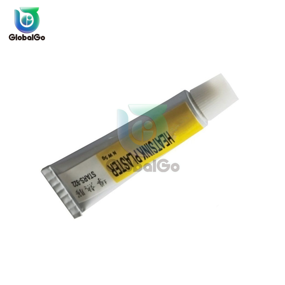 5 Pcs/Lot 5g Paste Thermal Grease CPU Cooler Cooling Fan Heatsink Plaster Thermocouple Heatsink Silicone Grease Glue