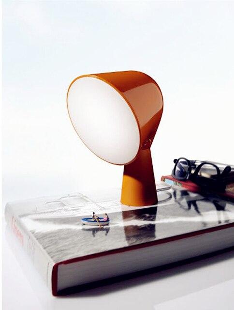 Симпатичный Новый дизайн Светодиодные настольные лампы E14 AC110 ~ 260 В 6 цвет теплый белый тумбочка свет для чтения Рабочий стол лампы