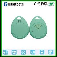 WAOUKSMini Ultrathin Elliptical Mobile Phone Wallet Anti Losing Device Smart Bluetooth Tracking And Positioning Of Two