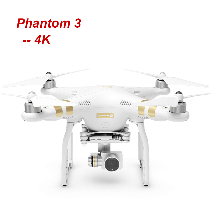 DJI Phantom 3 4K with 4K Camera video RC Helicopter FPV Drone with EMS Free Shipping