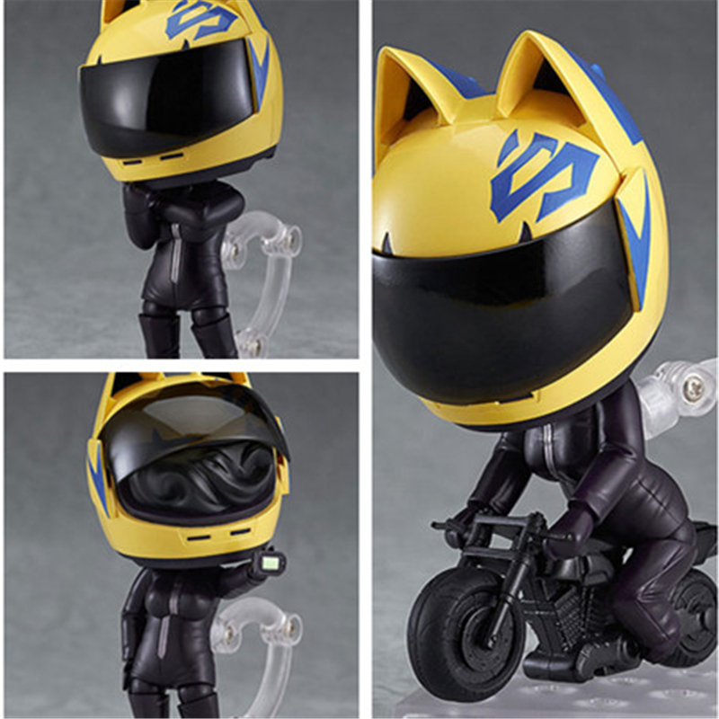 [PCMOS] 2017 New Anime DuRaRaRa!! x2 Nendoroid 513 Celty Sturluson 10cm/4 PVC Figure No Box Model Toy Collection 5729-L