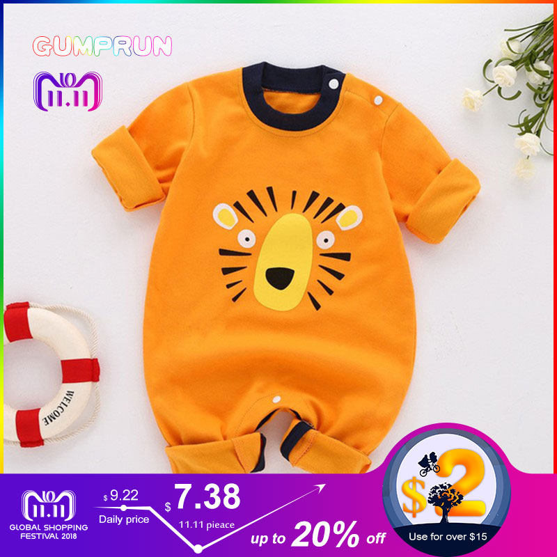 Winter baby boy's clothing Cartoon Pig Baby Romper Long Sleeve children's Clothing Warm Baby Clothes Cotton infant baby jumpsuit hy2062 gentleman vest cotton baby s long sleeve infant romper cloth black gray size xl
