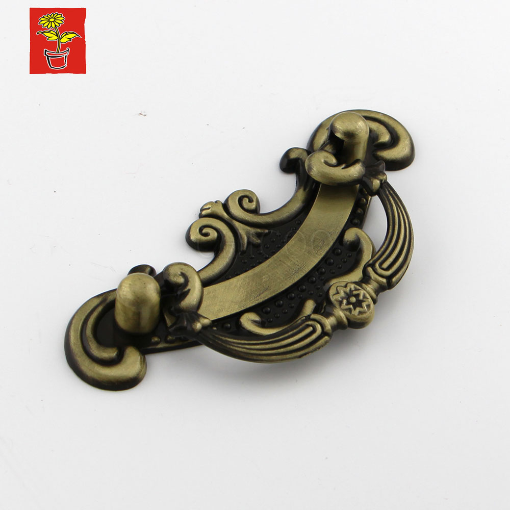 3.7inch Antique Brass Furniture Handles kitchen cabinet accessories drawer knobs copper door handles