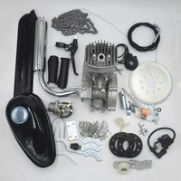 80cc 2 Stroke Motorized Bicycle Gas Engine Motor Kit  Low Noise Low Vibration Use for DIY mtb mountian bike road bicycle