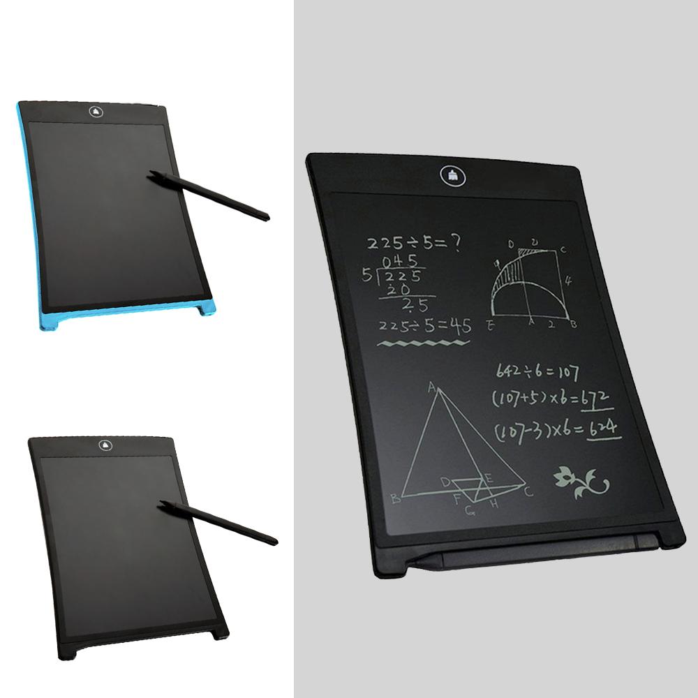Prix pour 12 pouce LCD Tablette Conseil Électronique Petit Tableau Noir Bureau Sans Papier Conseil D'écriture avec Stylus Stylos