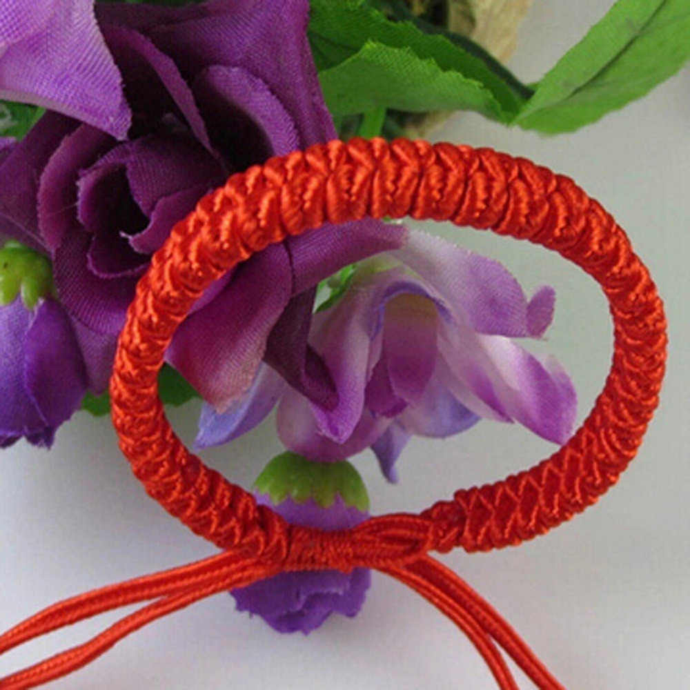 Baru Wanita Pria Jewelry Handmade Waving String Gelang Merah Tali Rantai & Link Gelang Wrap Surf Gelang Wristband BL0099