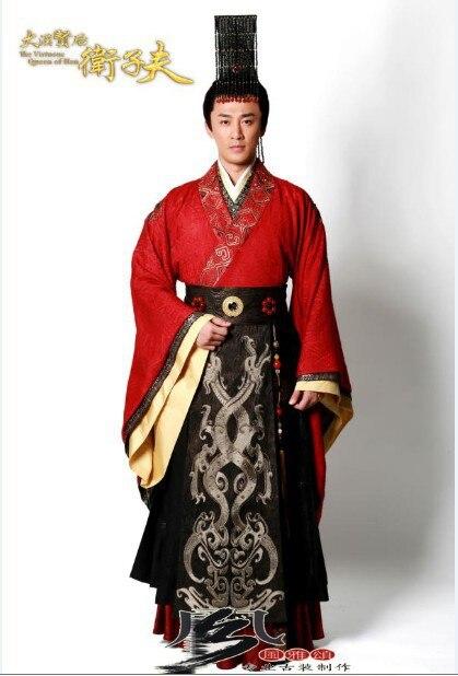 Hot prodaja visoke kvalitete hanfu muški kralj kostim Drevni kineski - Nacionalna odjeća - Foto 4