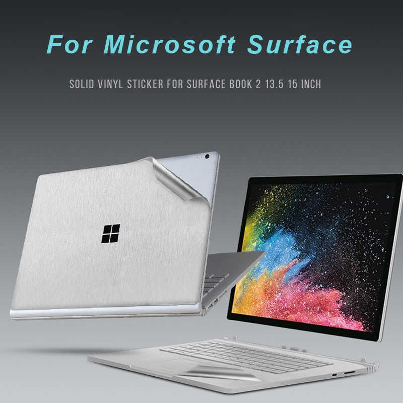 Housse pour ordinateur portable housse pour Microsoft Surface Book2 13.5 pouces coquille autocollants vinyle autocollant pour ordinateur portable pour Surface book2 15 pouces