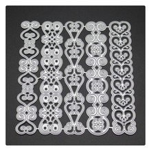 YINISE 1700 Laces Scrapbook Metal Cutting Dies For Scrapbooking Stencils DIY Album Cards Decoration Embossing Folder Die Cuts yinise 068 horse dog scrapbook metal cutting dies for scrapbooking stencils diy album cards decoration embossing folder die cuts