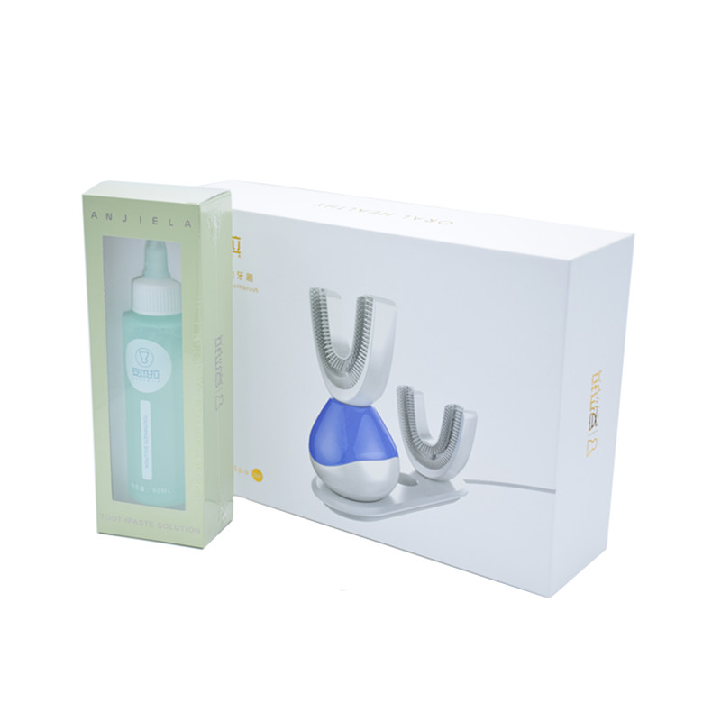 Free DHL or EMS Rechargeable Ultrasonic Intelligent Adult Electric with Antibacterial Silicone Brush fully Automatic Toothbrush brand new 700 k40e zs with free dhl ems