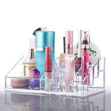Acrylic transparent makeup storage box jewelry wardrobe drawers