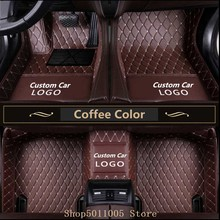 For B-M-W 1 2 3 4 5 7 Series X1 X3 X4 X5 X6 GT Series Z4 Waterproof floor mats Liner Auto Mat custom LOGO Car Floor Mats Auto цена