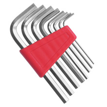 "Jewii 8Pcs Hex Key Allen Wrench 1/16""  1/4"" Inch & 1.5mm 6mm Metric Size Chromium vanadium Steel Spanner Short Arm Tool Set"