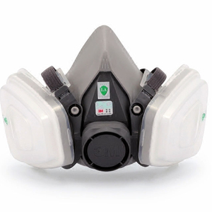 Image 3 - 3M 6200 Gas Mask with 603 Filter Adapter for Anti Dust Mask Painting Spraying Gas Mask Dust Proof Respirator