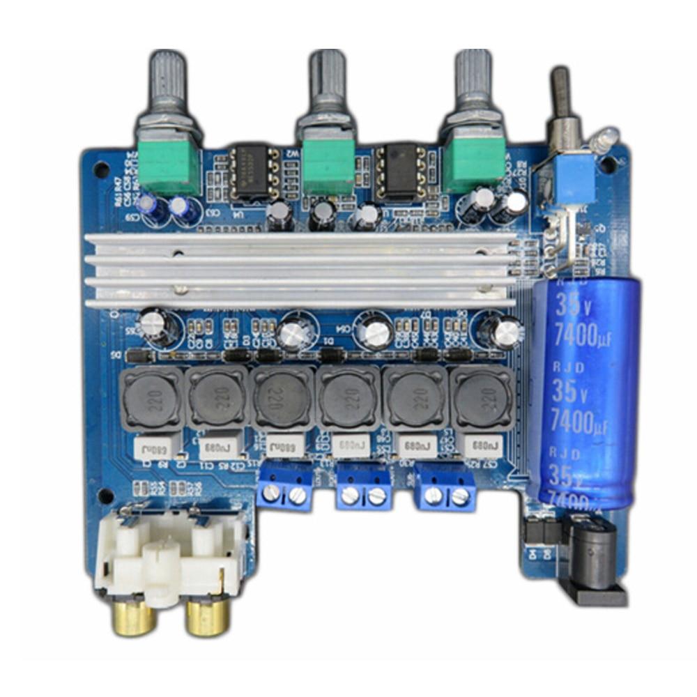 2.1 Channel Digital Power Amplifier Board TPA3116D2 2*50W+100W Subwoofer Amplifier2.1 Channel Digital Power Amplifier Board TPA3116D2 2*50W+100W Subwoofer Amplifier