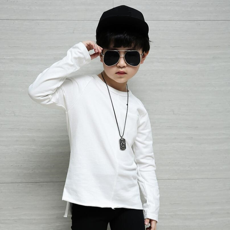 Age 4 15 Yrs 2018 Spring Fall Casual Toddler Teen T Shirt ...