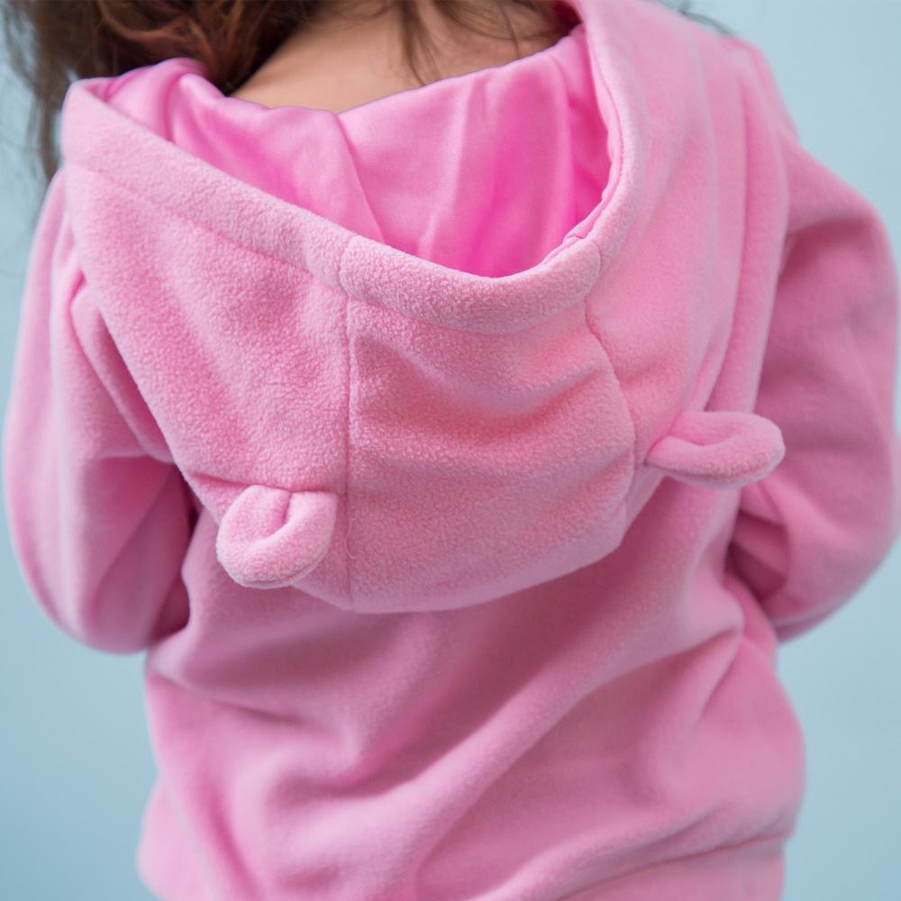 Blazer-children-s-spring-new-sweater-single-girls-jacket-T-zone-children-with-caps-leisure-pullovers-2