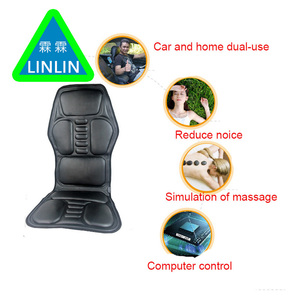 Image 4 - LINLIN Car Home Office Full Body Massage Cushion.Heat Vibrate Mattress.Back Neck Massage Chair Massage Relaxation Car Seat 12V