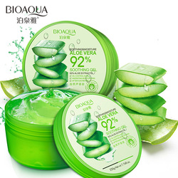 BIOAQUA 220g Natural aloe vera Smooth Gel Acne Treatment Face Cream for Hydrating Moist Repair After Sun