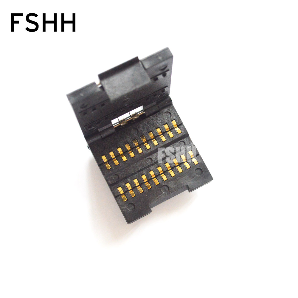 FSHH 0805 test socket Chip capacitors test seat SMD Capacitor socket (20 work stations)