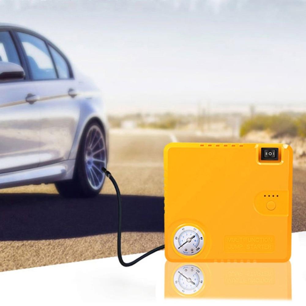 купить TM16B 16800mAh Car Starting Device Power Bank Car Charger Booster Emergency Battery Quick Starter Electric Inflatable Pump по цене 6227.89 рублей