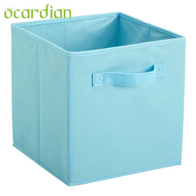 Captivating OCARDIAN Fabric Cube Storage Bins, Foldable, Premium Quality Collapsible  Baskets, Closet Organizer Drawers
