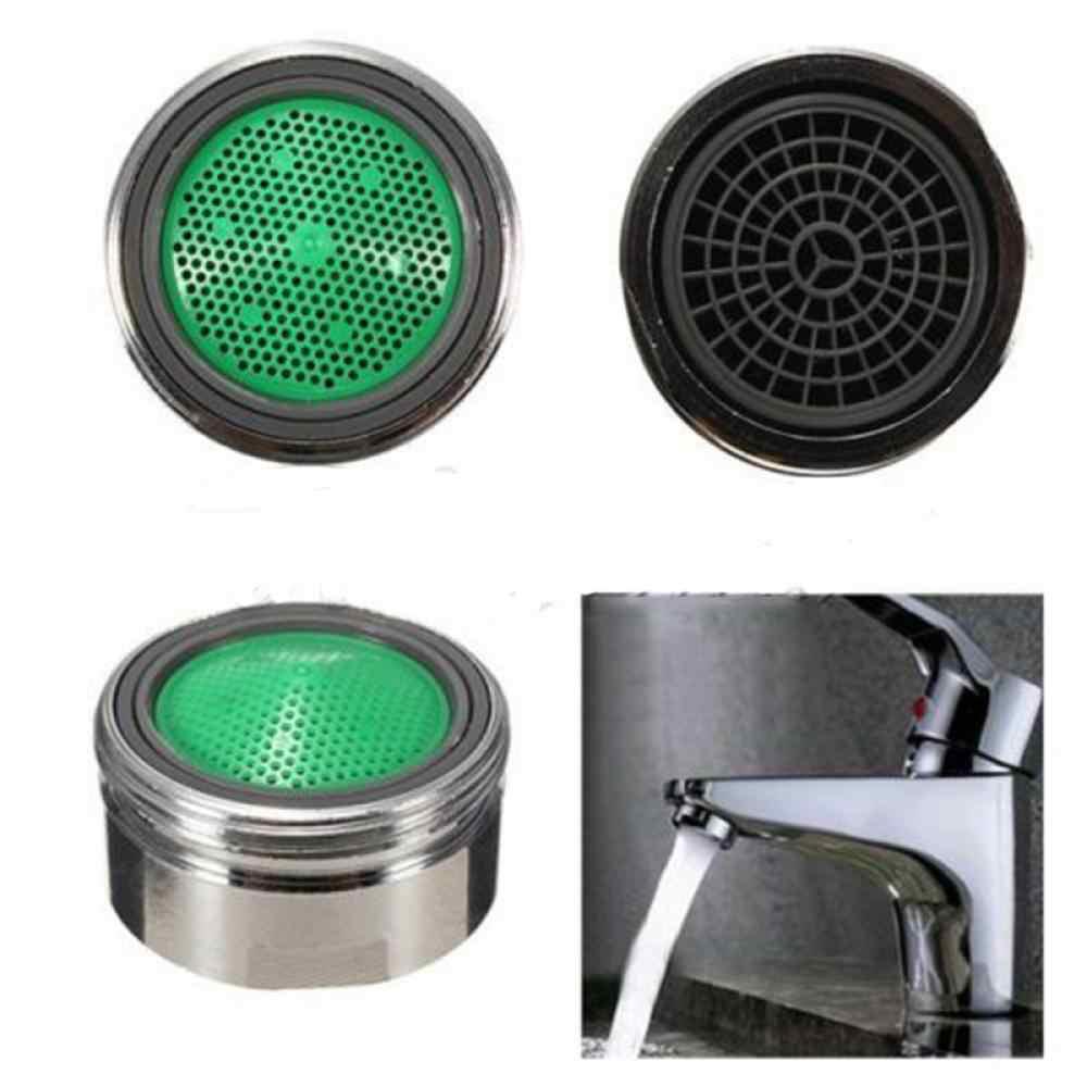 Gorąca sprzedaż 1PC nowy oszczędzania wody wylewka kran Tap dysza Aerator filtr opryskiwacz chromowany CN do kuchni łazienka wysokiej jakości
