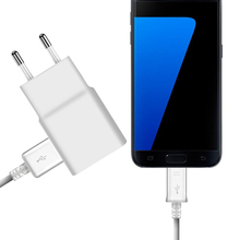 2A USB EU US Plug Wall Charger+Micro USB Charging Cable For Samsung S4 S6 S7 Edge Galaxy Note2 Note4 C5 C7 Android Phone Adapter цены