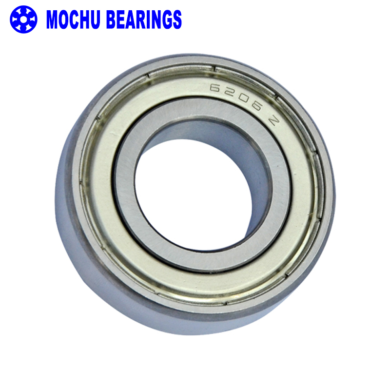 2pcs bearing 6206 6206Z 6206ZZ 6206-2Z 30x62x16 MOCHU Shielded Deep groove ball bearings Single row High Quality bearings 6007rs 35mm x 62mm x 14mm deep groove single row sealed rolling bearing