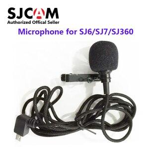 Image 1 - Original SJCAMอุปกรณ์เสริมไมโครโฟนภายนอกสำหรับSJCAM SJ6 LEGEND /SJ7 Star /SJ360 กีฬากล้อง