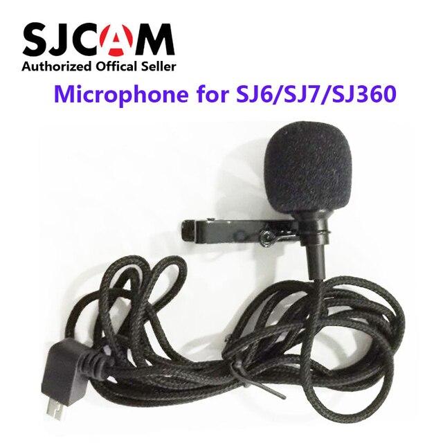 Original SJCAMอุปกรณ์เสริมไมโครโฟนภายนอกสำหรับSJCAM SJ6 LEGEND /SJ7 Star /SJ360 กีฬากล้อง