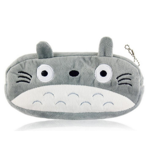 Popular 20cm Approx. Totoro Plush Toy Bag , Plush Cover Coin Bag Purse Design Keychain Plush Toy