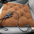 12v heating carbon fiber Car seat covers, blending keep warm car accessories supplies, winter far-infrated heated seat cushion