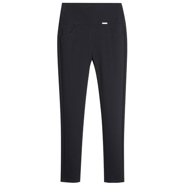 Black Casual Pants Womens