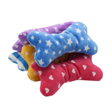 Squeaky Chew Bone Shaped Toys for Pet Dogs Cats